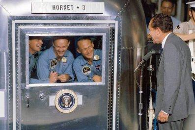 Apollo 11, Richard Nixon