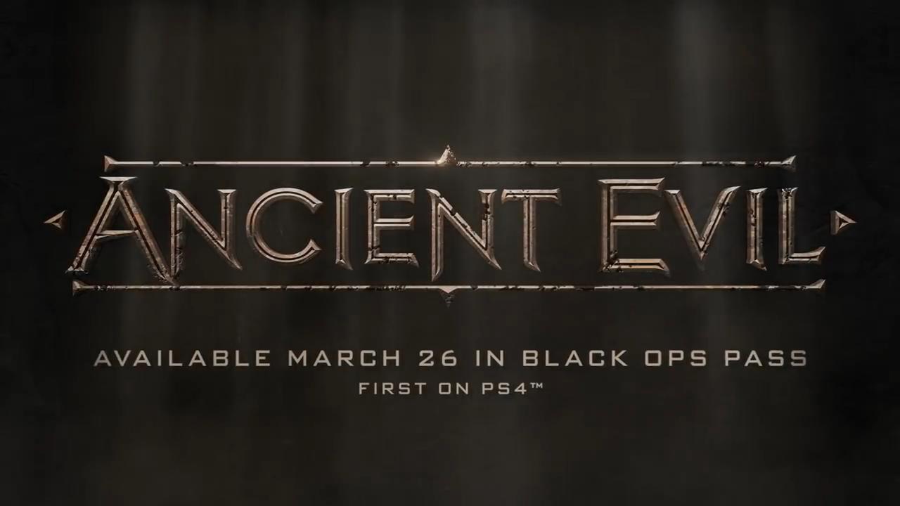 Black Ops 4 ancient evil logo