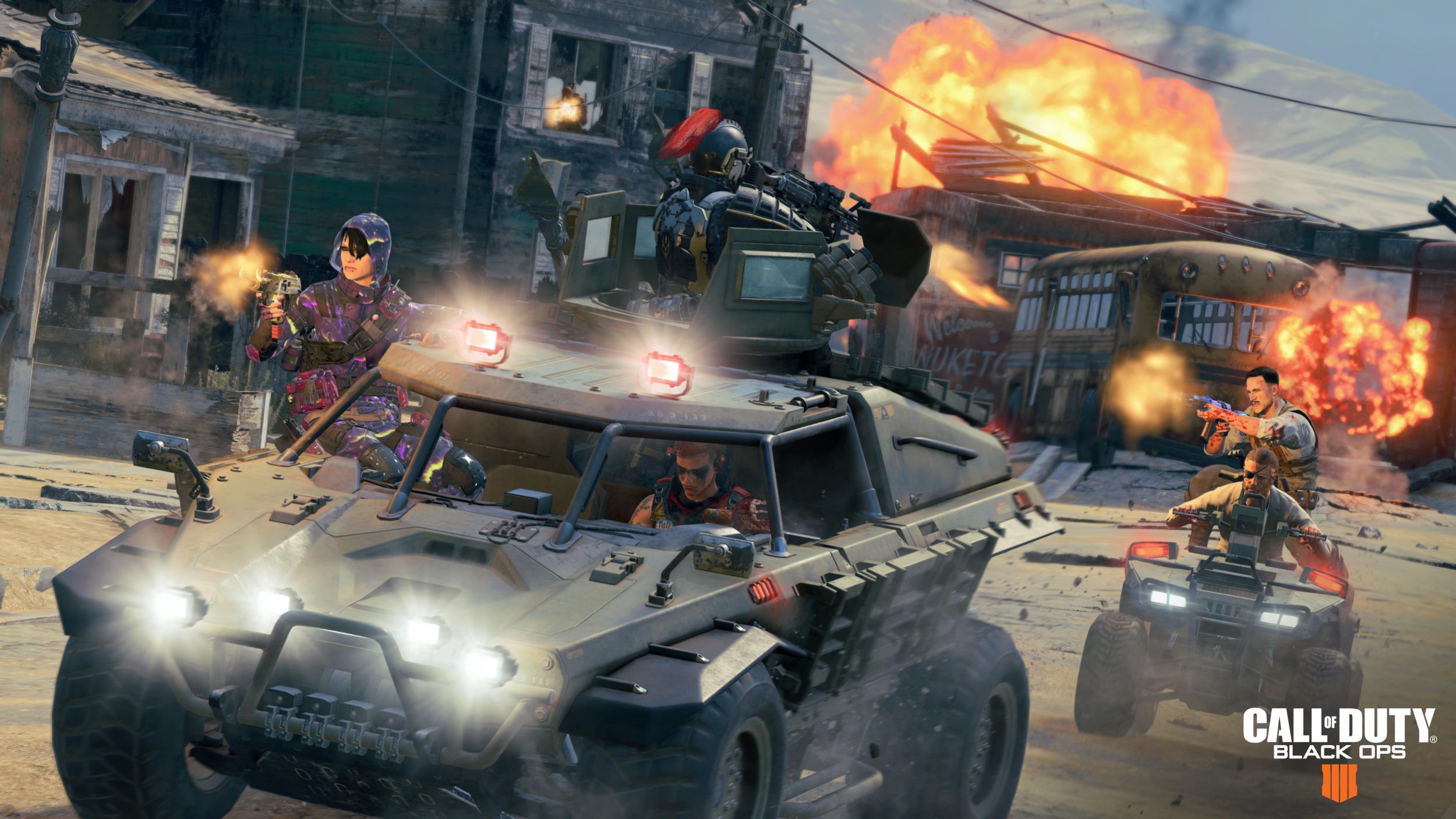 Black Ops 4 blackout vehciles update 116