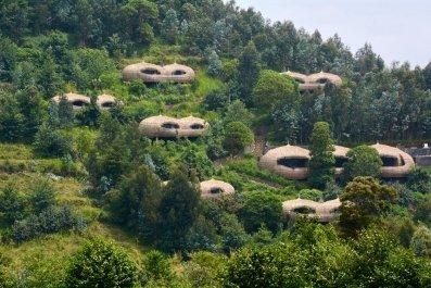 Bisate Lodge in Ruhengeri, Rwanda