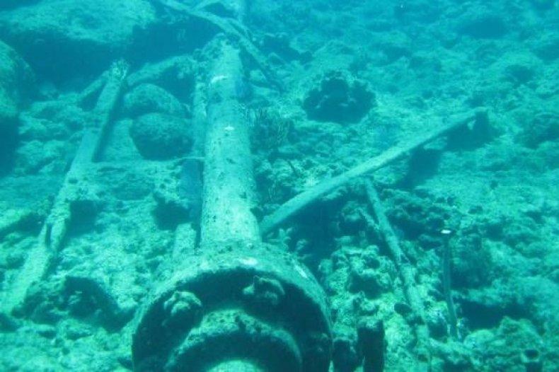 Bahamas shipwreck diving HMS Conqueror