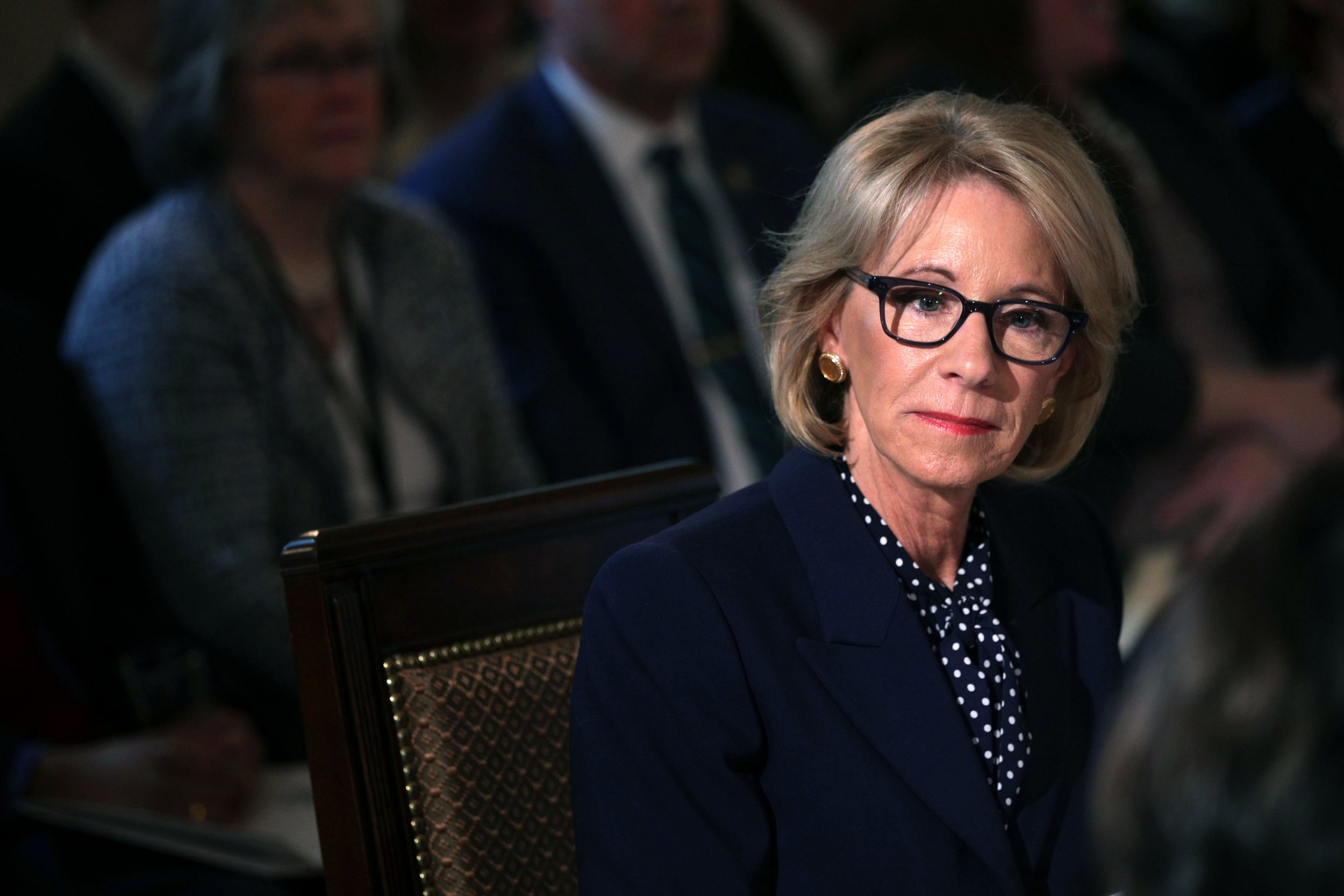 d8c4fda0 Twitter Reacts to Betsy DeVos' Proposed Budget Cuts to Special Olympics:  'More Like Betsy DeVoid of Basic Human Empathy'