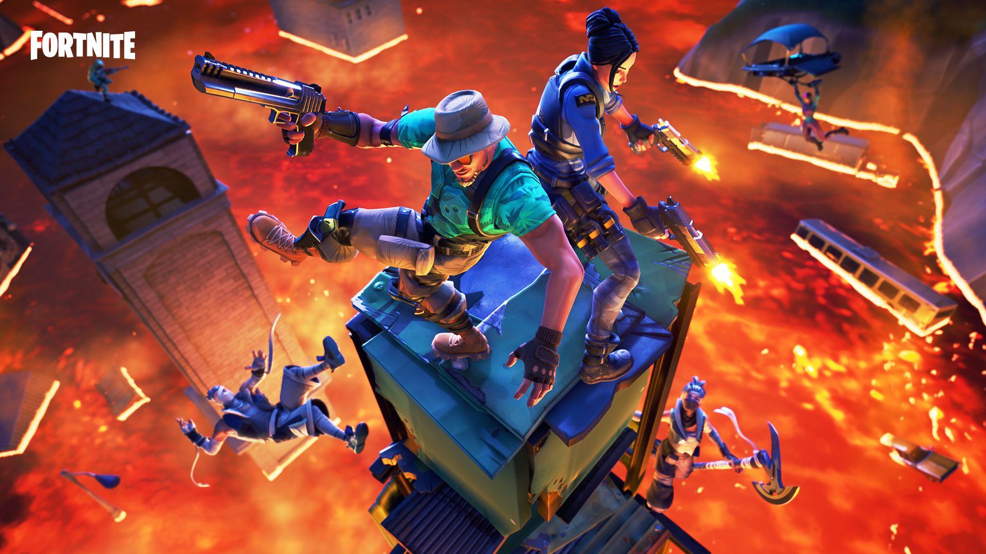 fortnite floor is lava - the matrix gaming fortnite