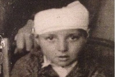 Vincente Spanish civil war orphan CROP