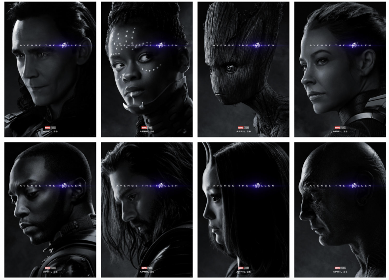 Who, died, avengers, infinity, war, endgame, posters, whos, alive, thanos, snap,