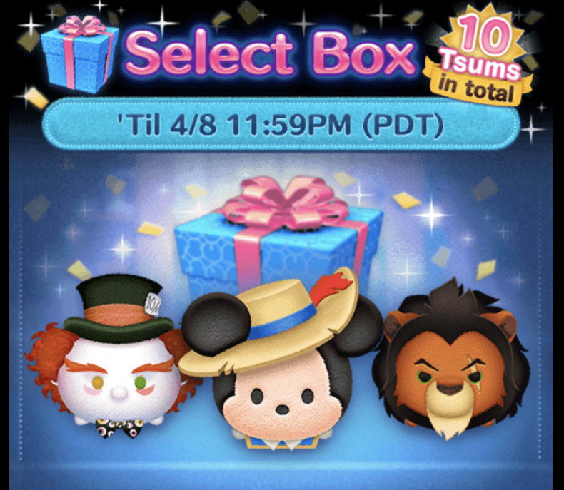tsum, tsum, april, 2019, event, calendar, upcoming, easter, garden, zootopia, capsules, lucky, time