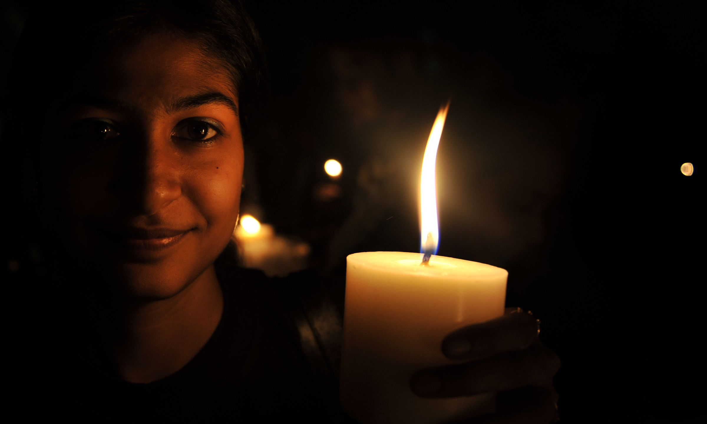 Earth hour stock getty