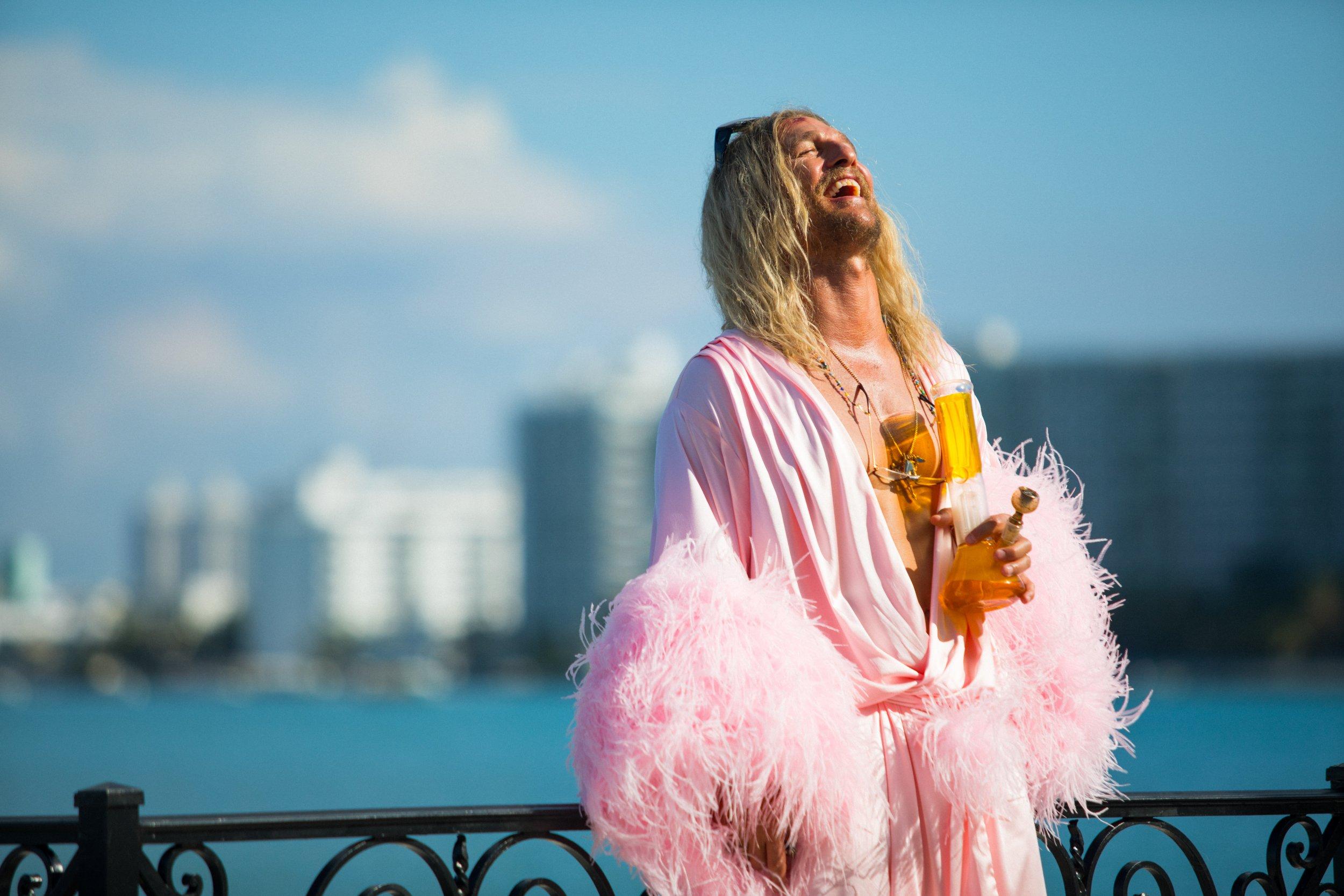 Matthew McConaughey as Moondog in 'The Beach Bum'