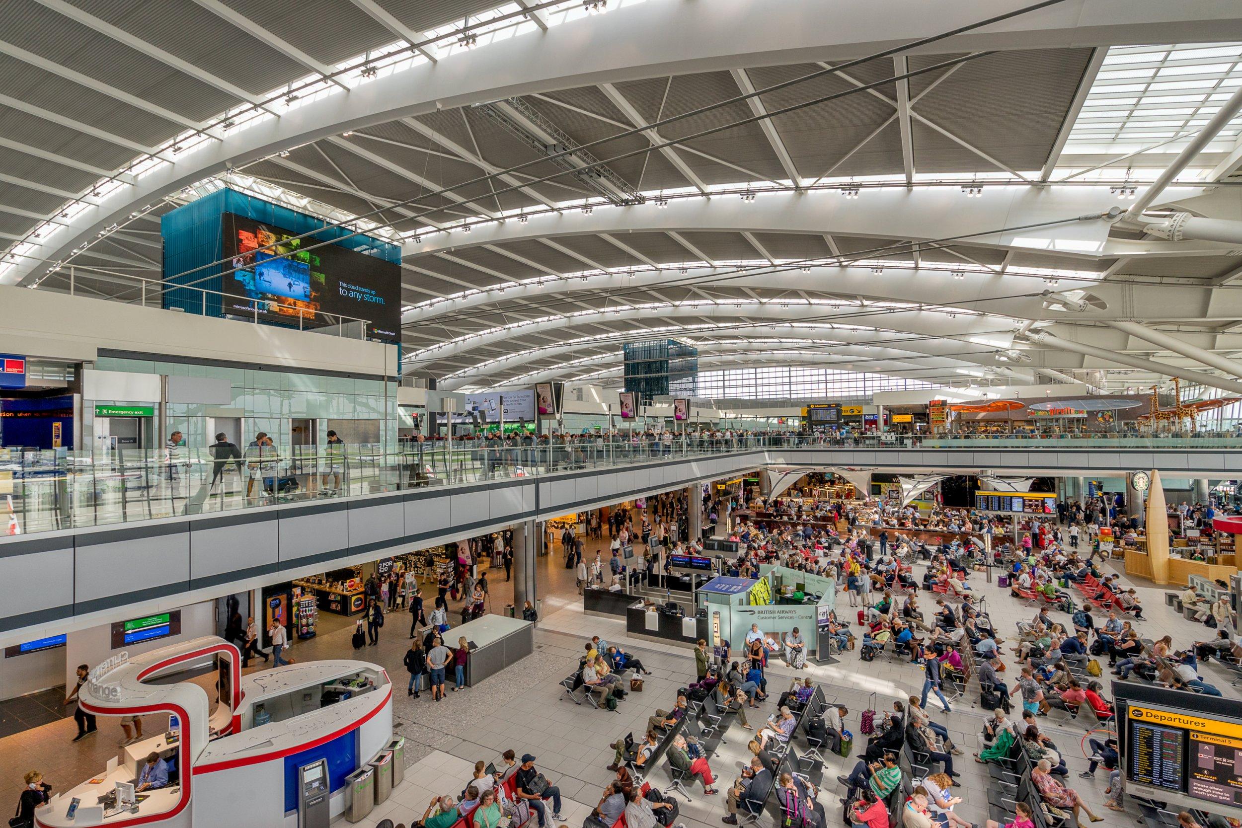 8 London Heathrow Airport