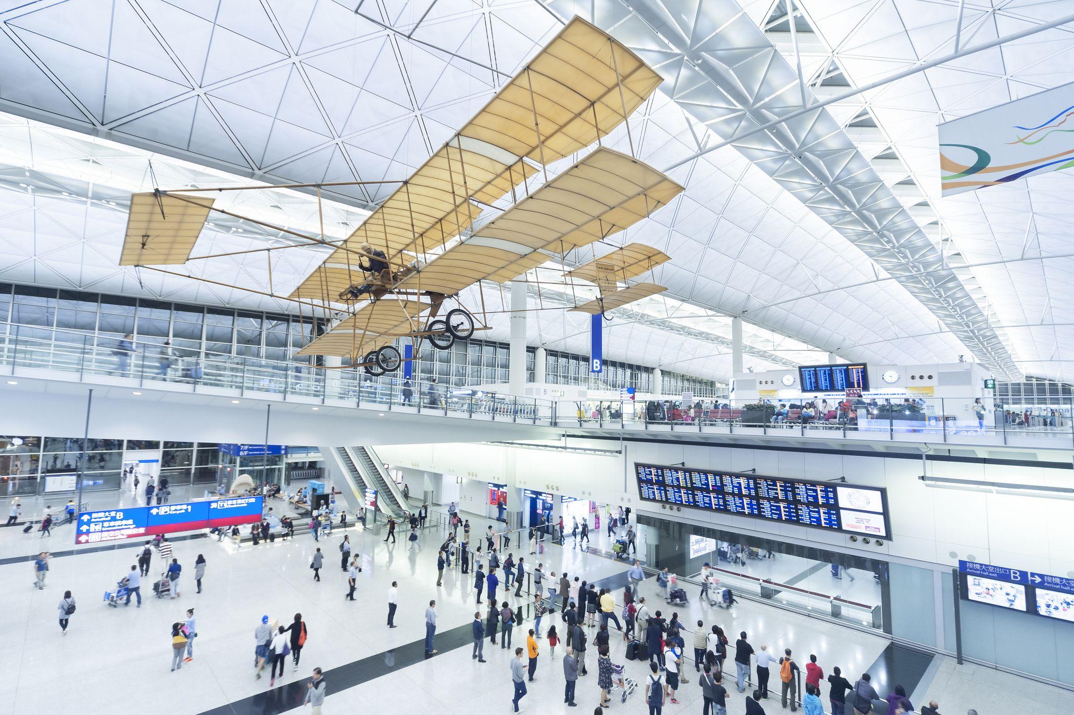 5 Hong Kong International Airport