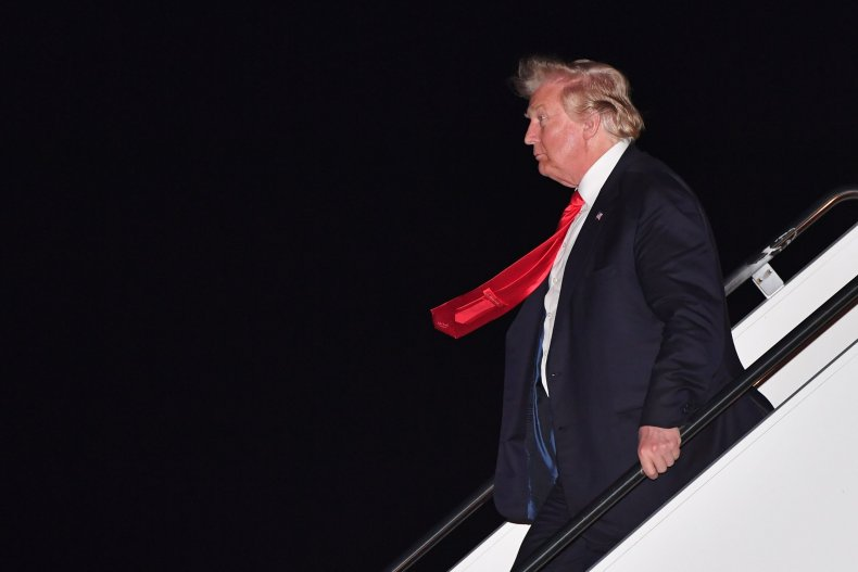 president donald trump air force once getty images