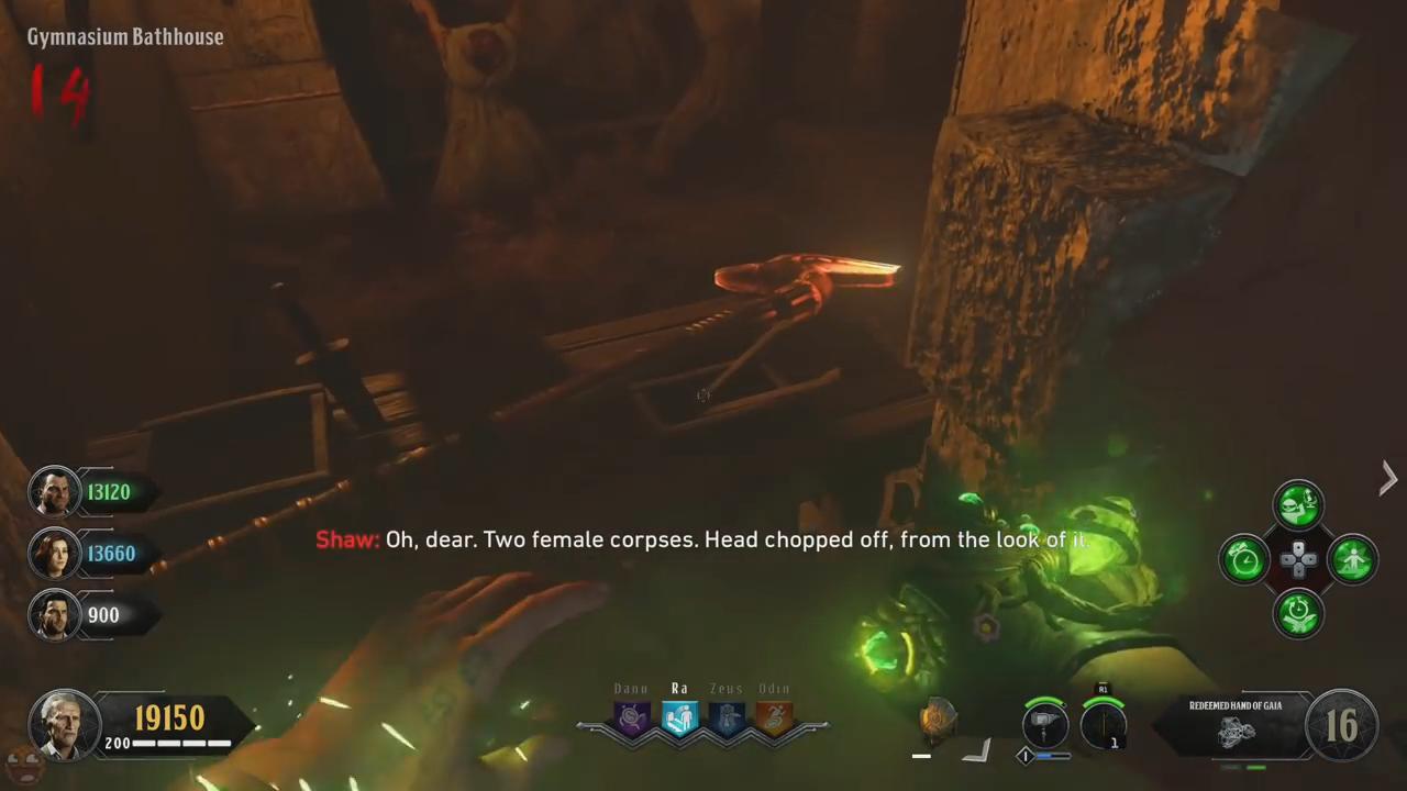 Black Ops 4 ancient evil easter egg 47 sceptre