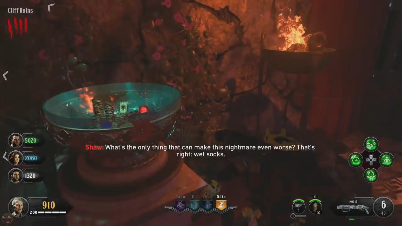 Black Ops 4 ancient evil easter egg 32 cliff tribute