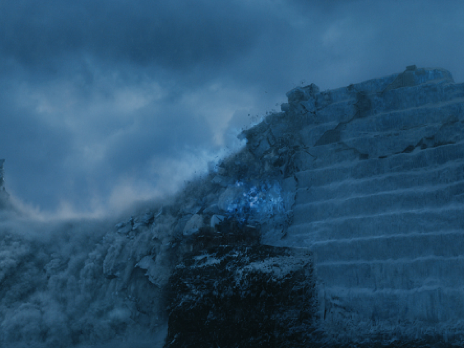 Game Of Thrones Season 8 How Was The Wall Built