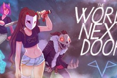 the, world, next, door, review, anime, match, 3, game, adventure, story, narrative