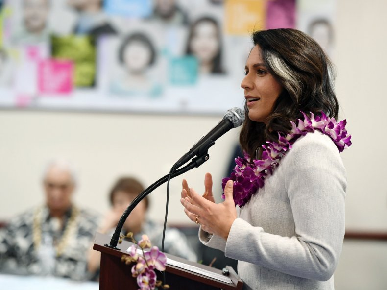 Tulsi Gabbard, Robert Mueller, move forward