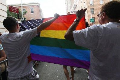 Gay Pride, American Flag