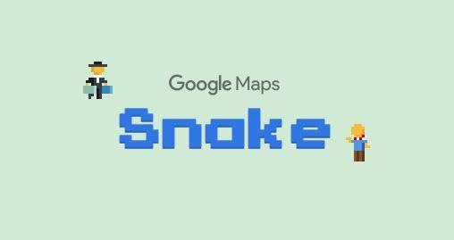 Google Maps revives Snake for an April Fools game