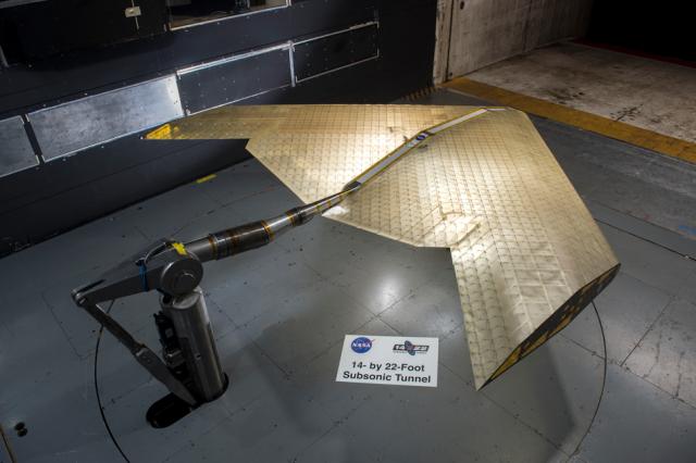 MIT, NASA, airplane wing