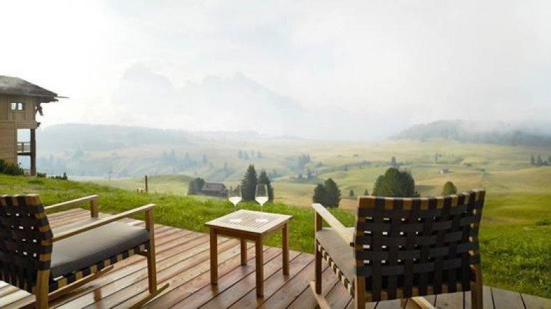 Adler lodge Dolomites