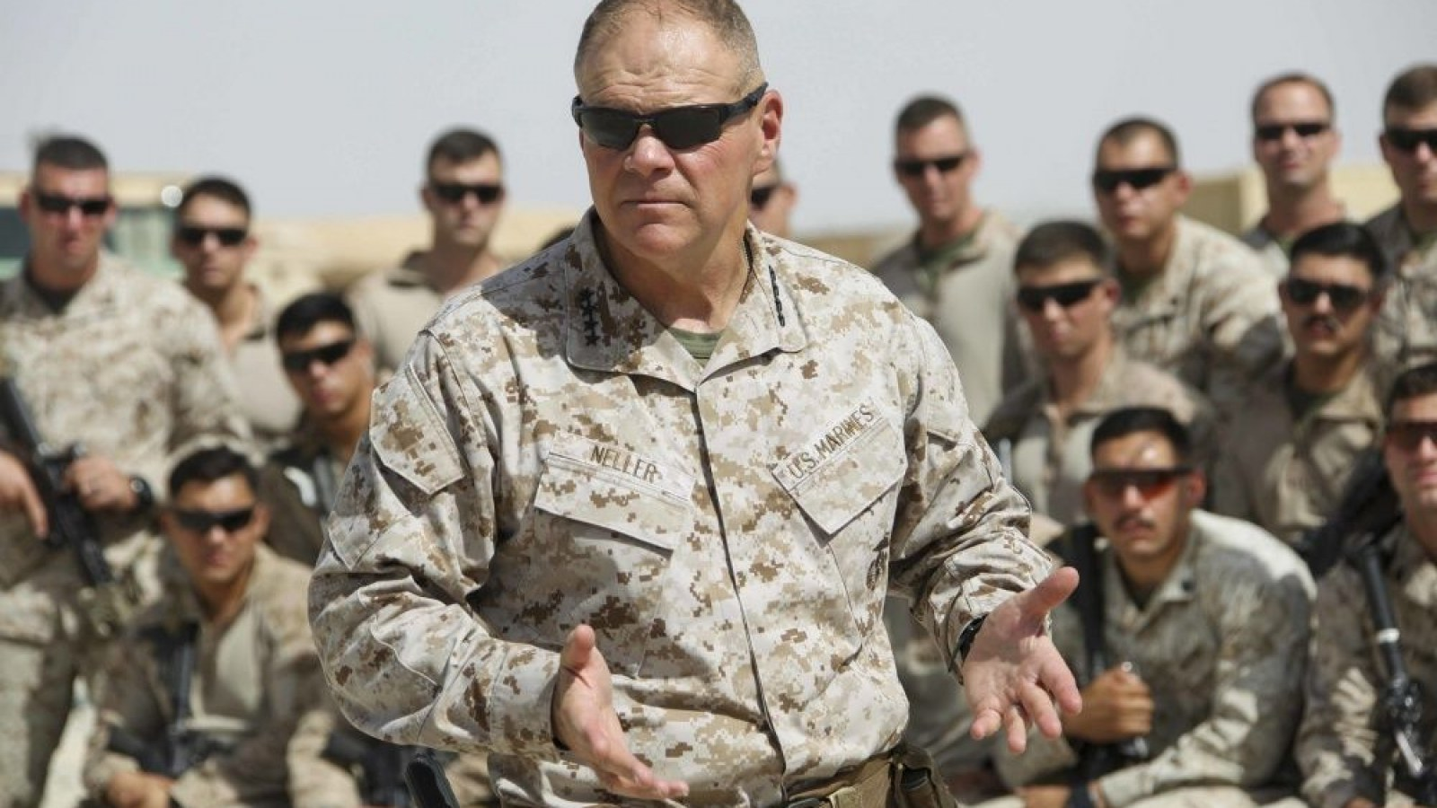 Top Marine General Let Emails Leak Amid Border Funding Fight
