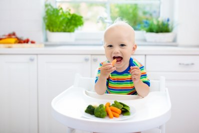 baby food toddler eating stock getty