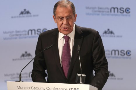 Sergei Lavrov Russia Sanctions U.S. threats