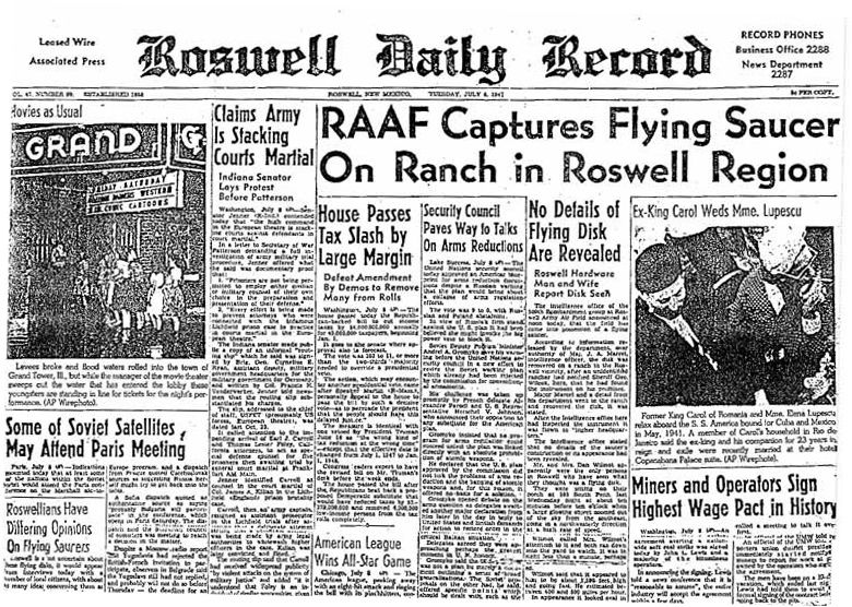 01 RoswellDailyRecordJuly8,1947