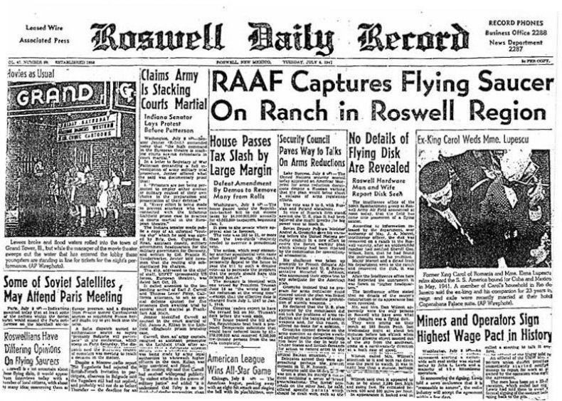 01 RoswellDailyRecordJuly8,1947