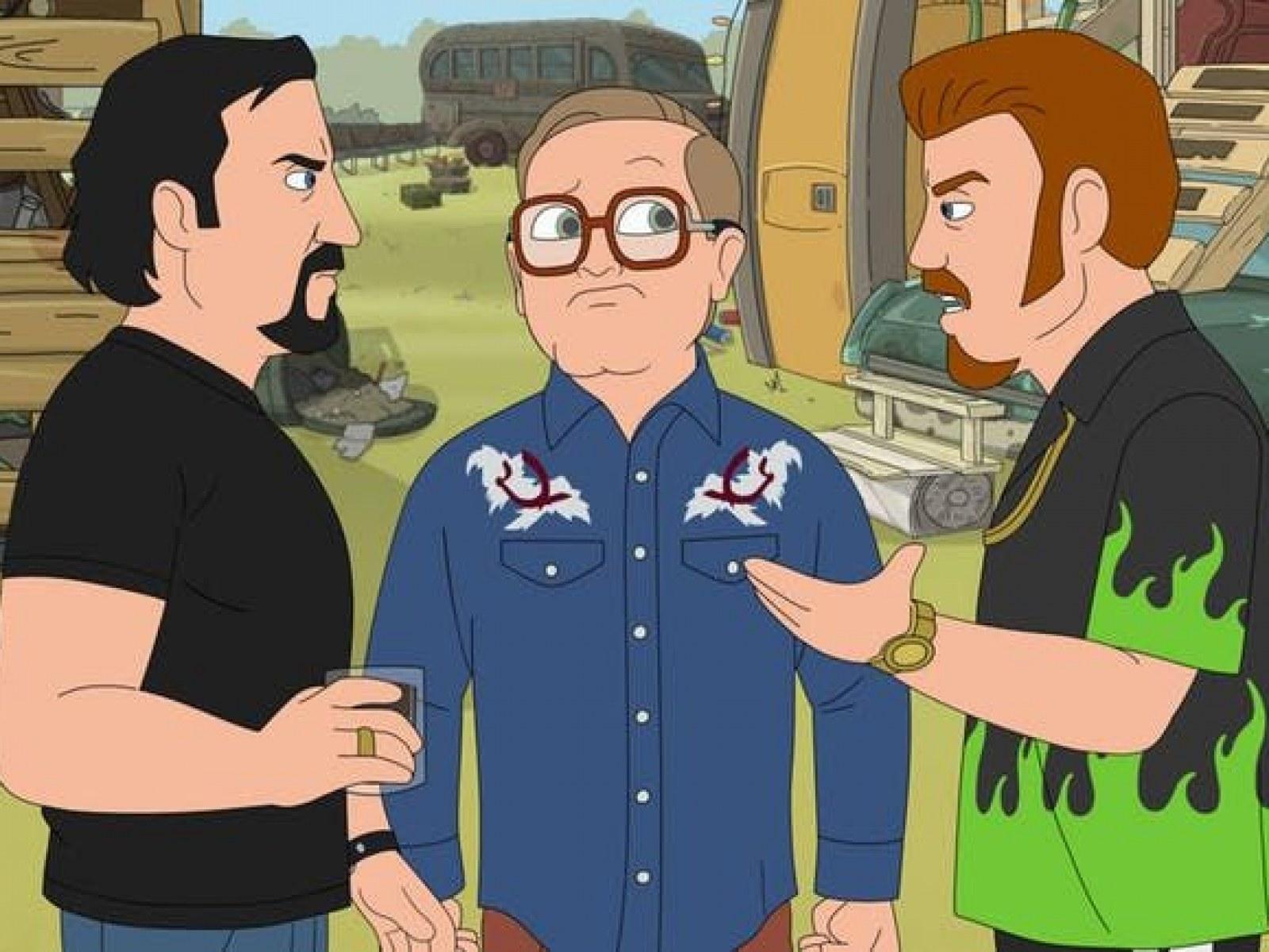 Trailer park boys animated series kills lahey death is a sht hawk