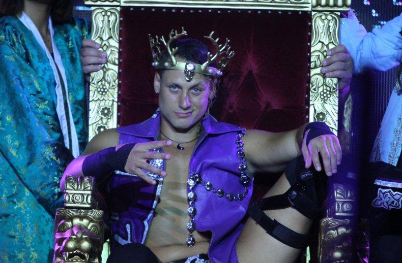 Matt Taven the kingdom ring of honor