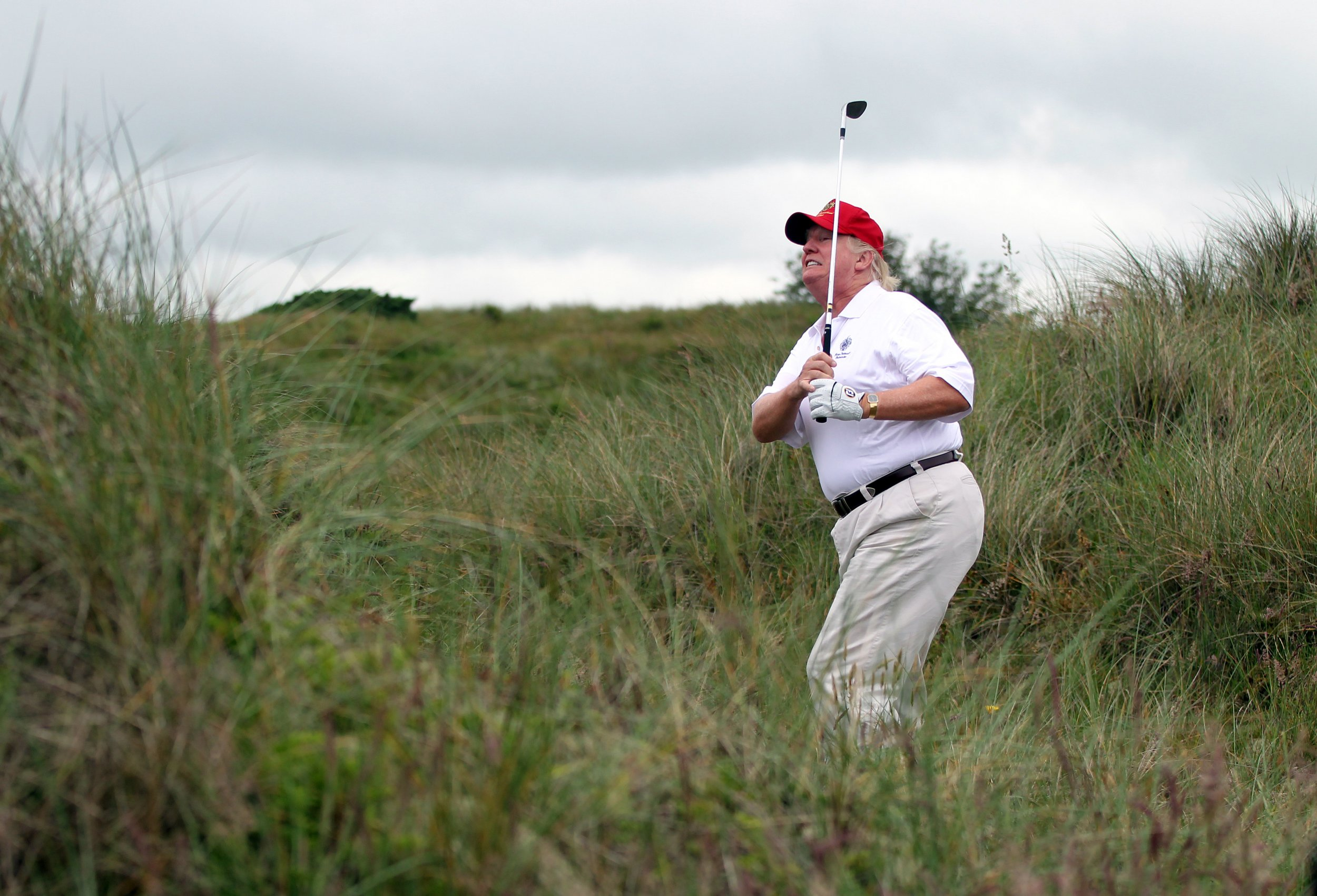 george, conway, donald, trump, golf