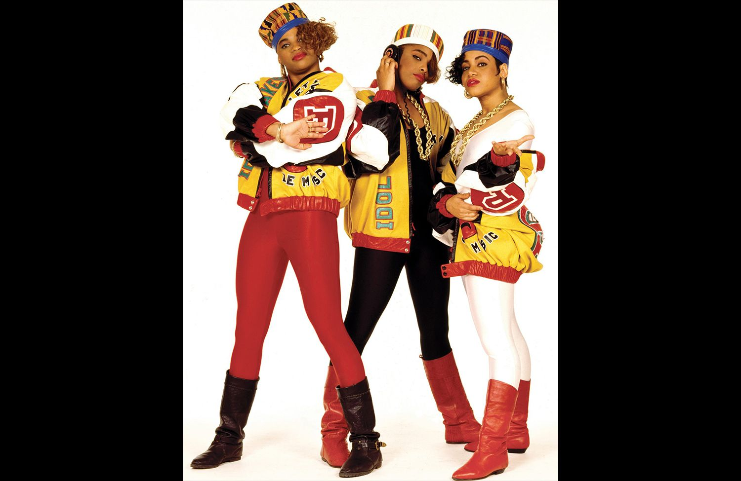 6. Salt-N-Pepa, from the cover shoot for Shake Your Thang (1987). Photo by Janette Beckman.