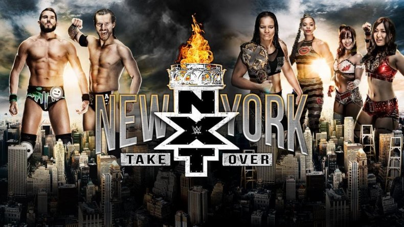 nxt takeover new york poster