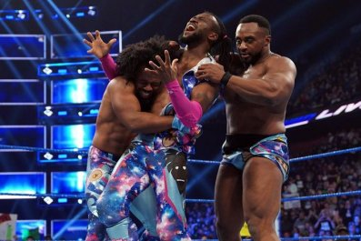 new_day_celebrates_with_kofi smackdown live results april 2