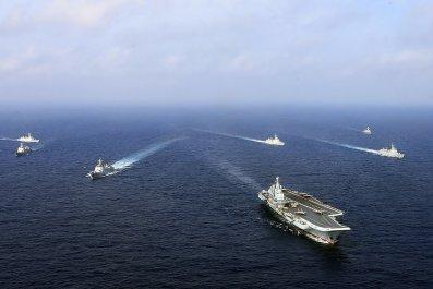 China Navy Taiwan South China Sea U.S.
