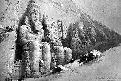 Statues of Ramesses II