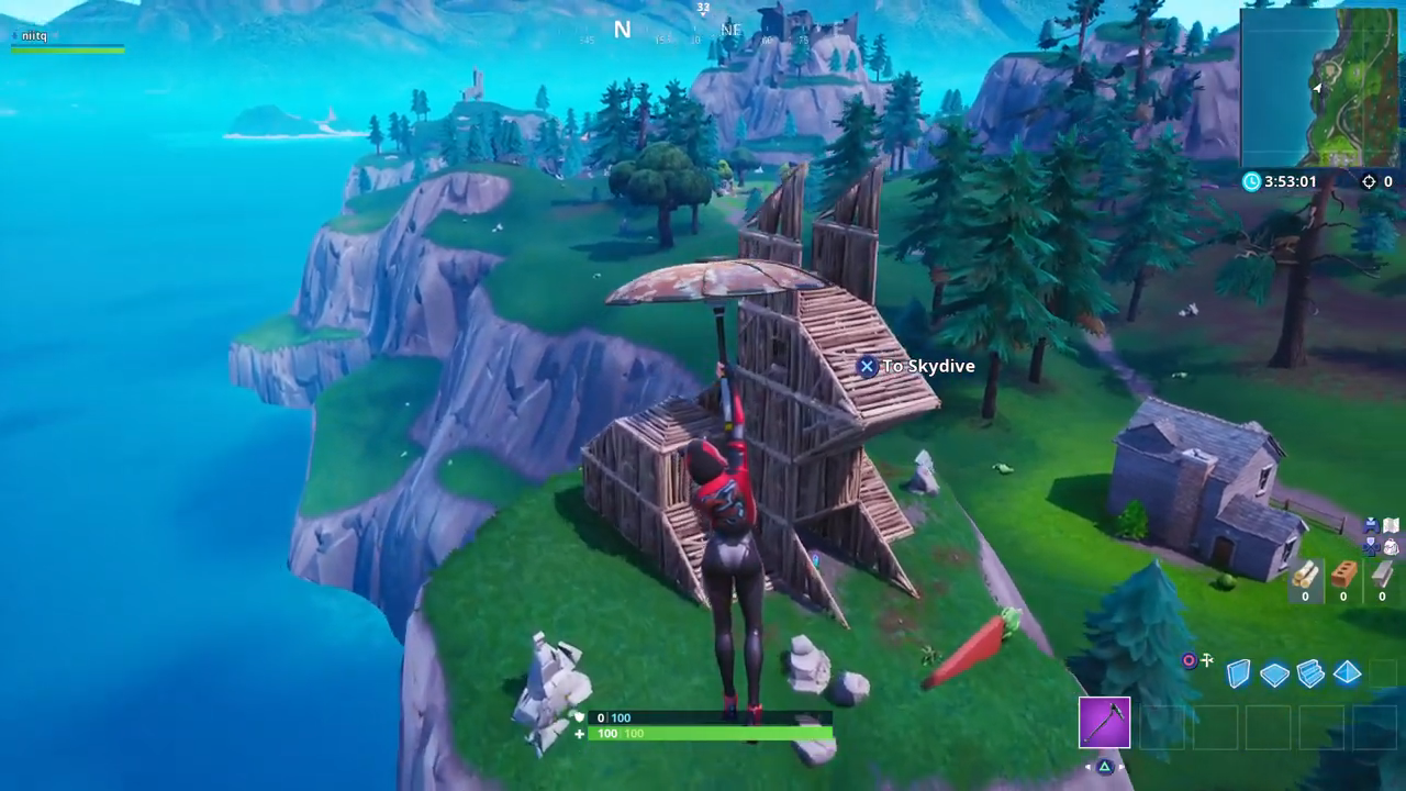 fortnite wooden rabbit stone pig metal llama location week 6 - fortnite visit a wooden rabbit stone pig