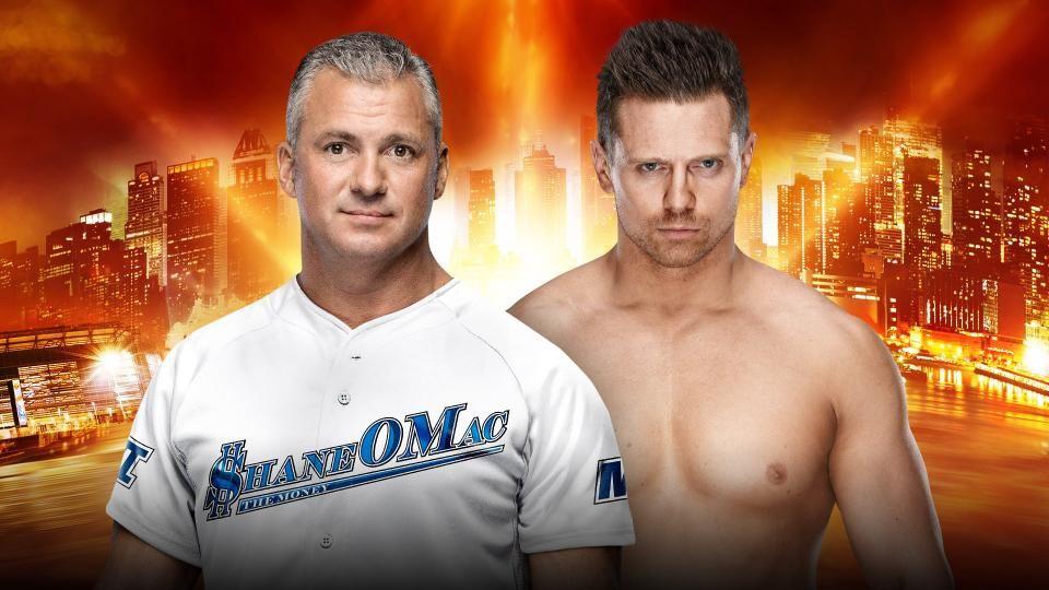 shane vs miz wrestlemania 35