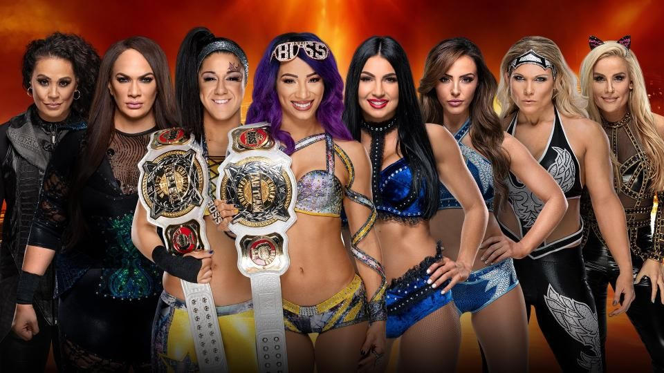 womens tag team championship match wrestlemania 35