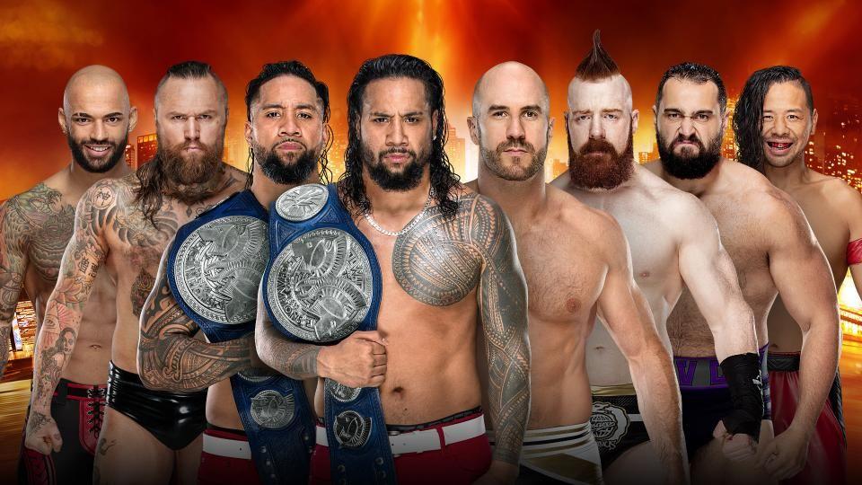 smackdown tag team championship match wrestlemania 35