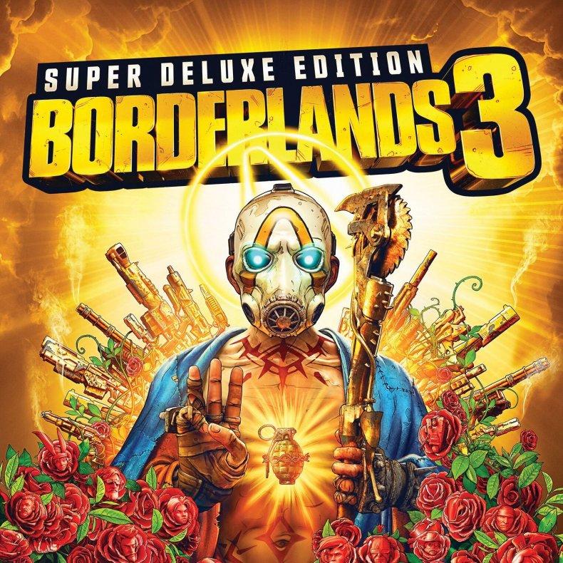 Borderlands, 3, super deluxe edition box art pre, order, release, diamond, loot, chest, deluxe, collectors, edition, 2k, gamestop, gearbox, where to buy