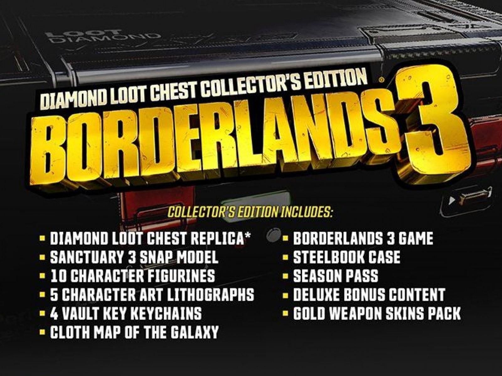 Borderlands 3' Pre-Orders: Bonuses, Editions, Box Art and More