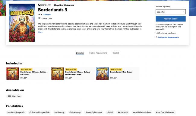 Borderlands 3' Multiplayer Features: Split Screen, Crossplay