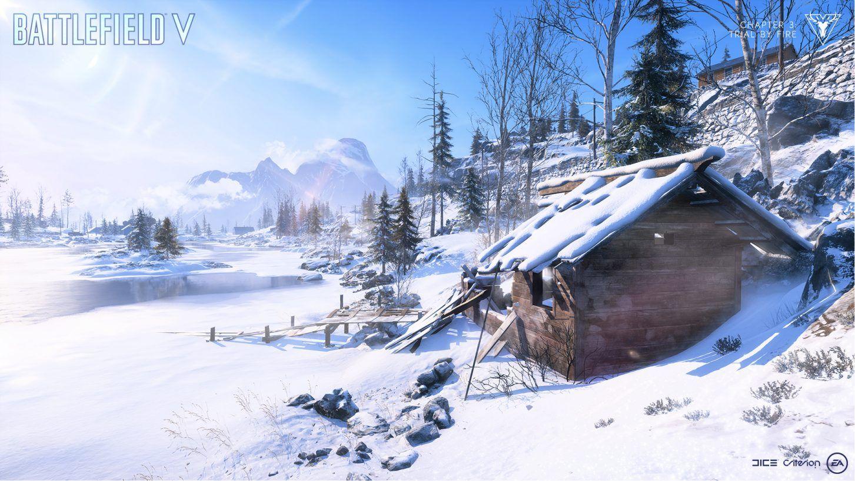 Battlefield 5 firestorm environment