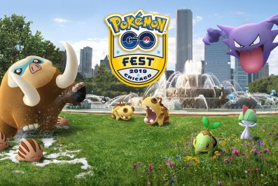 pokemon go fest chicago 2019 image logo pachirisu gallade shiny horsea