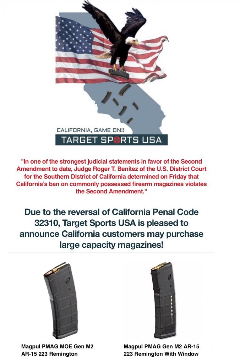 Target Sports USA California