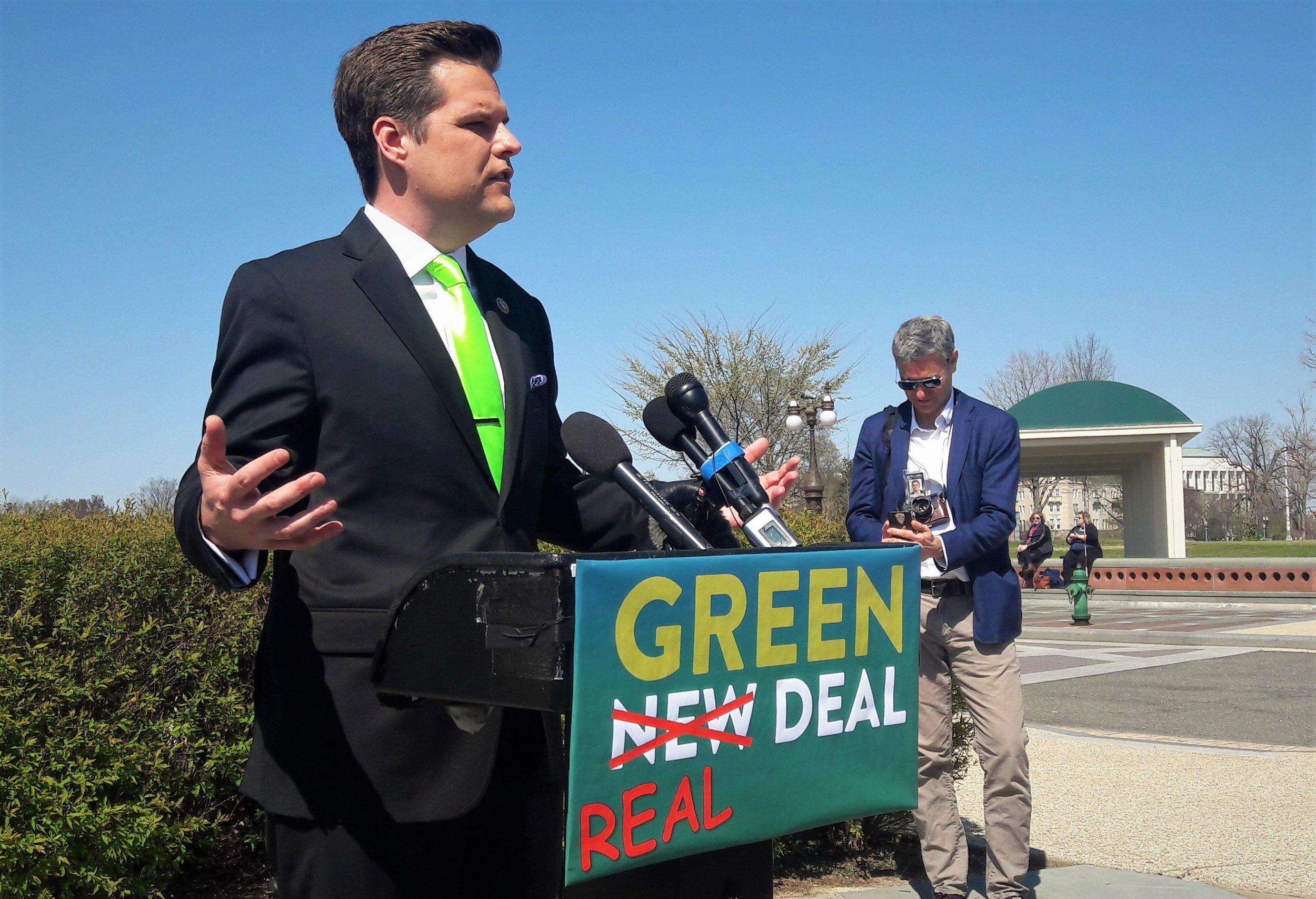 Matt Gaetz, Green Real Deal