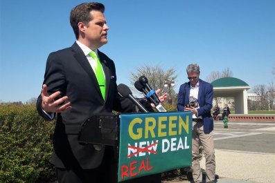 Matt Gaetz, Green Real Deal