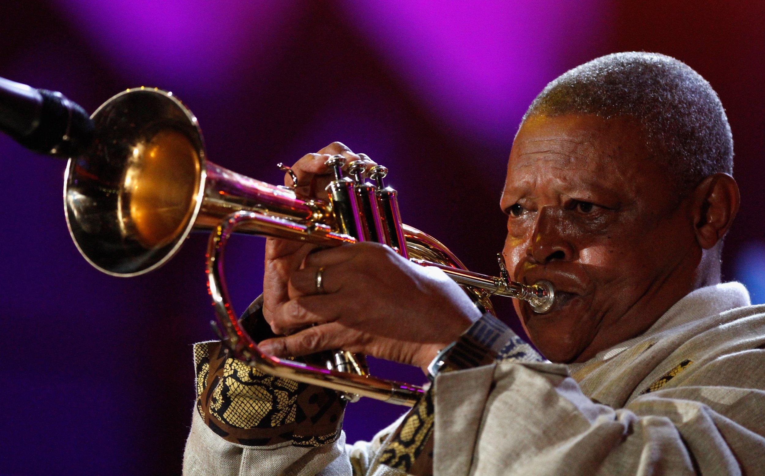 Hugh Masekela Google Doodle jazz South Africa